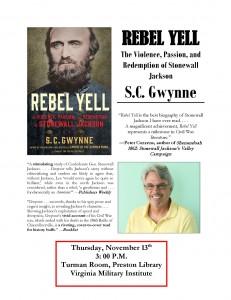 Rebel Yell Gwynne Flyer poster