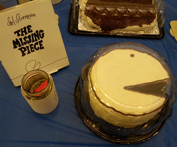 The Missing Piece, Edible Book Entry