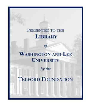 Telford Foundation Bookplate