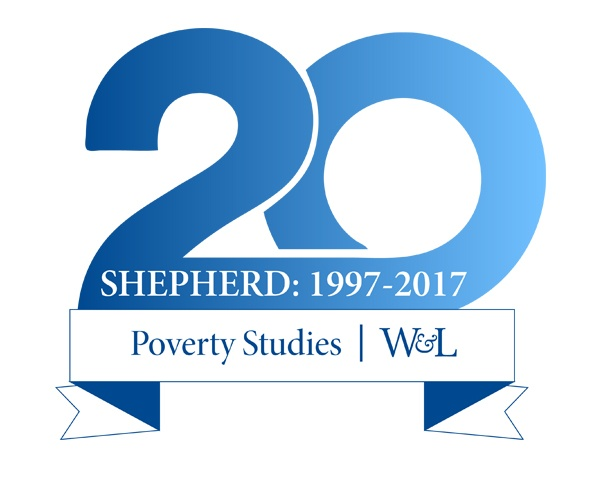 Shepherd Program's 20th Anniversary Graphic